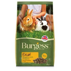 Burgess Excel Rabbit Nuggets Adult With Oregano 2kg