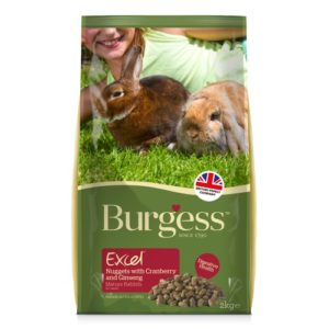 Burgess Excel Rabbit Nuggets Mature With Cranberry & Ginseng 2kg
