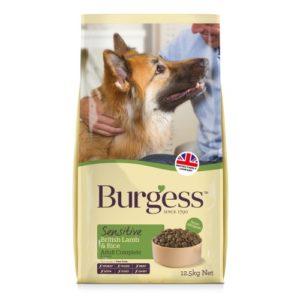 Burgess Sensitive Lamb & Rice 12.5kg
