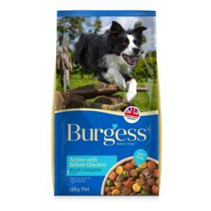 Burgess Supadog Active Chicken & Beef 15kg