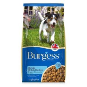 Burgess Supadog Puppy Complete Chicken & Oats 12.5kg
