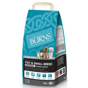Burns Adult Small & Toy Breed 6kg