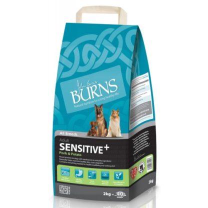 Burns Sensitive+ Adult Pork & Potato 15kg