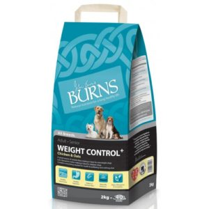 Burns Weight Control+ Adult & Senior Chicken & Oats 2kg