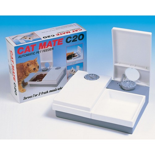 C20 Cat Double Meal Feeder With Ice Pack