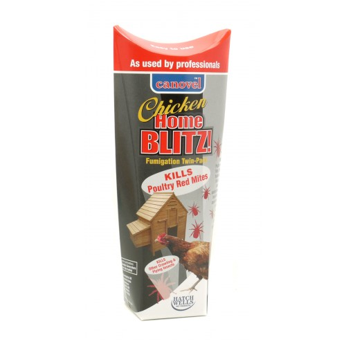 Canovel Chicken Home Blitz! For Red Mites Twin Pack