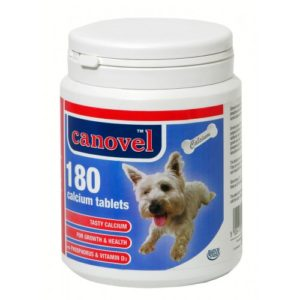 Canovel Dog & Cat Calcium 180 Tablets