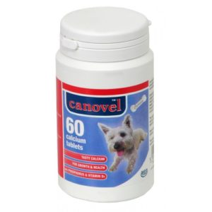 Canovel Dog & Cat Calcium 60 Tablets