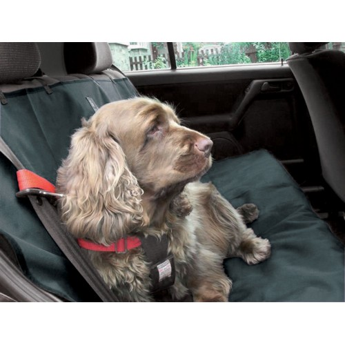 Car Seat Cover Charcoal Grey 140x115cm