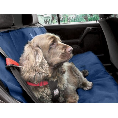 Car Seat Cover Navy 140x115cm