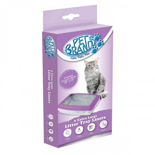 Cat Litter Liners Extra Large 6pack