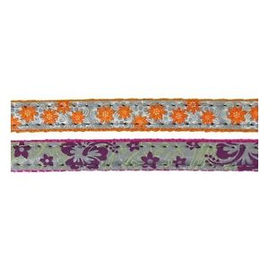 Cat Walk Cat Collar Reflective Floral Assorted