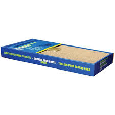 Catit Scratching Board With Catnip Wide