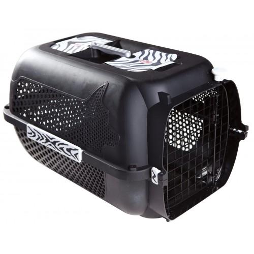 Catit Voyageur Tiger Design Black Medium 56x37x30cm
