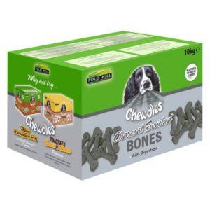 Chewdles Charcoal Bones 10kg