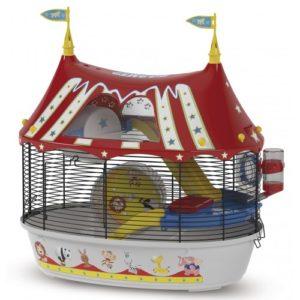 Circus Fun Hamster Cage 49.5x34x42.5cm