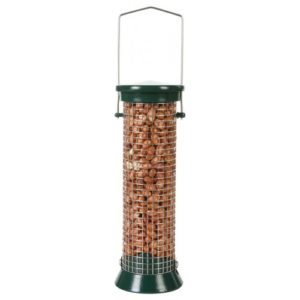 Cj Defender Metal Peanut Feeder Green 6 Port Small 20cm