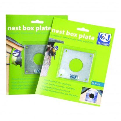 Cj Nest Box Plates 32mm