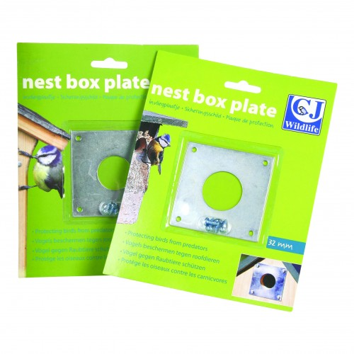 Cj Nest Box Plates 32mm