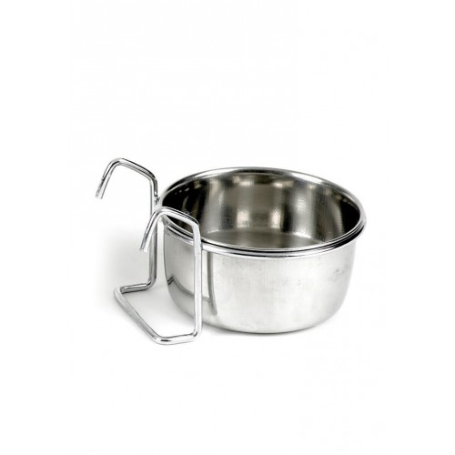 Classic Hook On Stainless Steel Coop Cup 300ml (100mm Dia)
