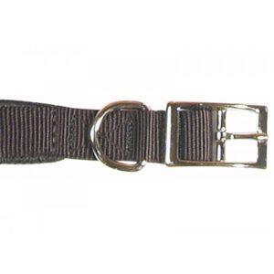 Classic Soft Protection Nylon Padded Collar Black 20×3/4″
