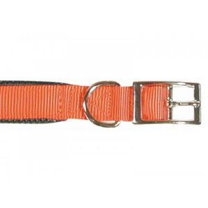 Classic Soft Protection Nylon Padded Collar Red 16 X 5/8″
