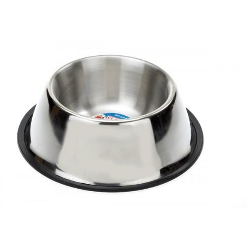 Classic S/steel Non Tip Spaniel Dish 850ml (245mm Dia)