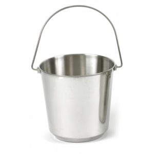 Classic Stainless Steel Pail 1800ml
