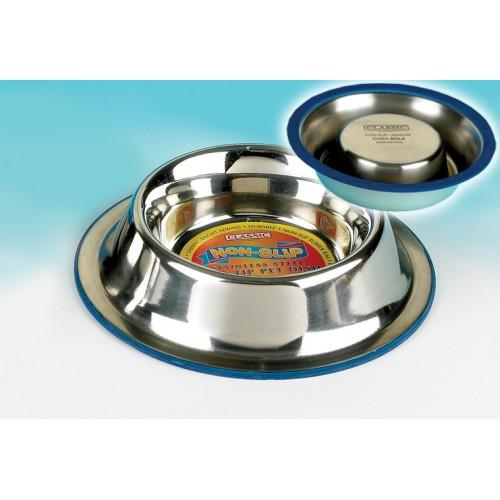 Classic Super Prem S/steel Non Slip Non Tip Dish 1000ml(270mm Dia)