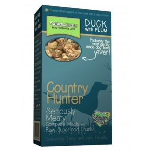 Country Hunter Freeze Dried Dog Complete Crunch Duck With Plum 700g