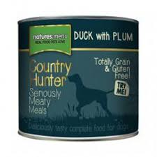 Country Hunter Meals Dog Can Duck With Plum 600g