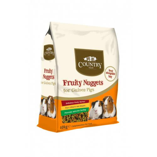 Country Value Guinea Pig Nuggets 10kg