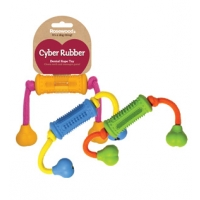 Cyber Dental Roller With Rope Assorted x3