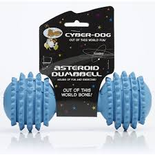 Cyber Rubber Dumbell Assorted Med x3