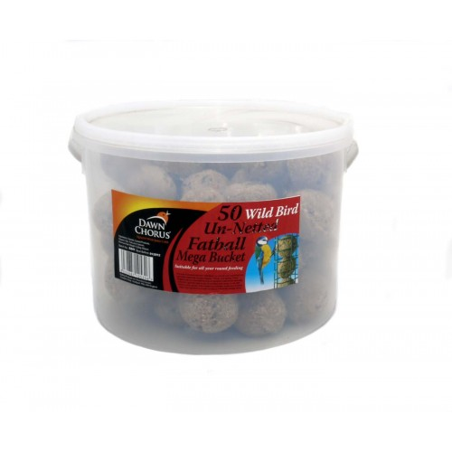 Dawn Chorus Fat Balls Un-netted 50Pc Bucket