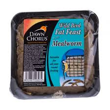 Dawn Chorus Fat Feast with Mealworms x12