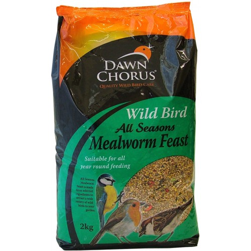 Dawn Chorus Wild Bird All Seasons Mealworm Feast 2kg