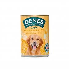 Denes Dog Light With Chicken & Liver +herbs 400g X12
