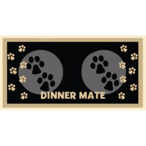 Dinner Mate Black 40x60cm