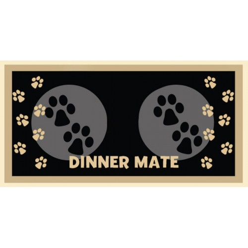 Dinner Mate Black 40x60cm