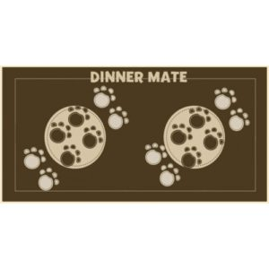 Dinner Mate Brown 40x60cm