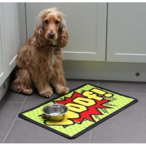 Dinner Mate Woof Food Mat 40x60cm