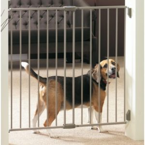 Dog Barrier Gate Indoor 62-102 X95cm