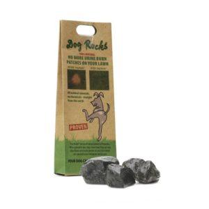 Dog Rocks Lawn Burn Prevention