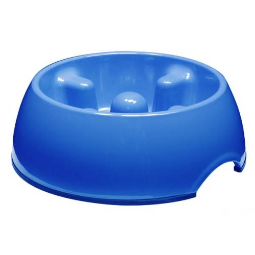 Dogit Anti Gulping Bowl Blue 1.2 Litres
