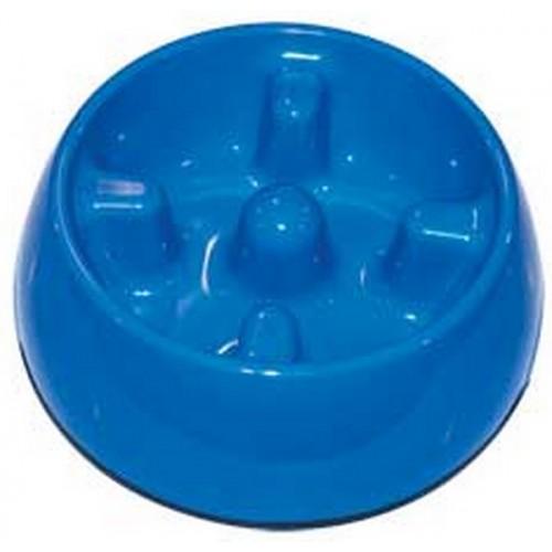Dogit Anti-gulping Bowl Blue Small 300ml