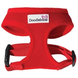 Doodlebone Harness Red Small 32-42cm