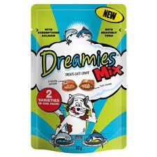 Dreamies Mix Salmon & Tuna 60g