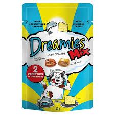 Dreamies Salmon & Cheese 60g