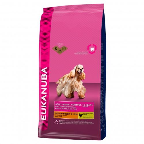 Eukanuba Dog Adult Weight Control Medium Breed 3kg
